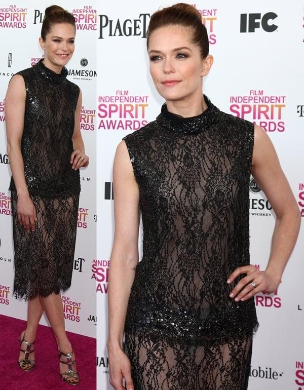 2013 Film Independent Spirit Awards at Santa Monica Beach
