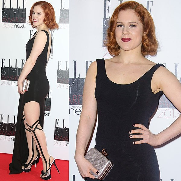 English singer Katy B attends the Elle Style Awards