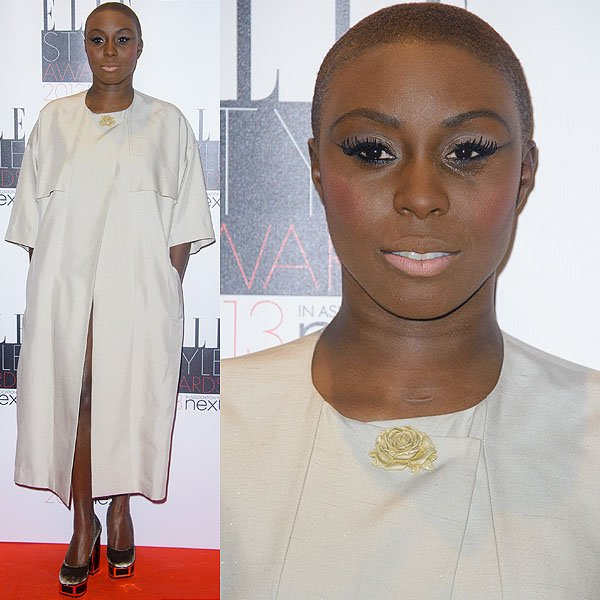 British recording artist Laura Mvula attends the Elle Style Awards