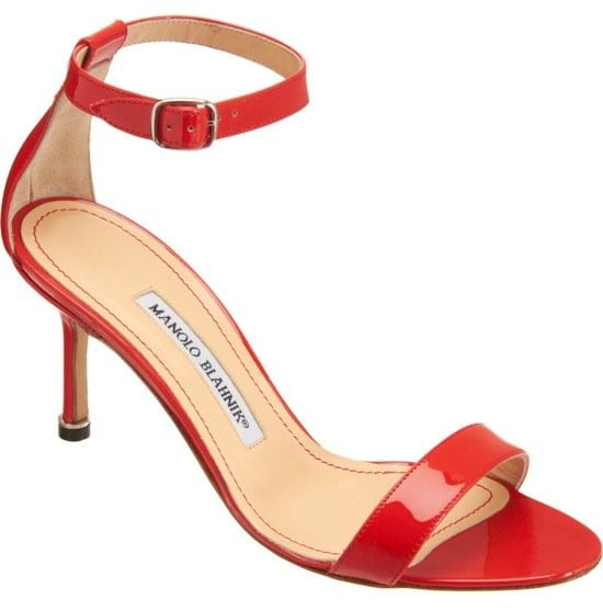 Manolo Blahnik 'Chaos' in Red