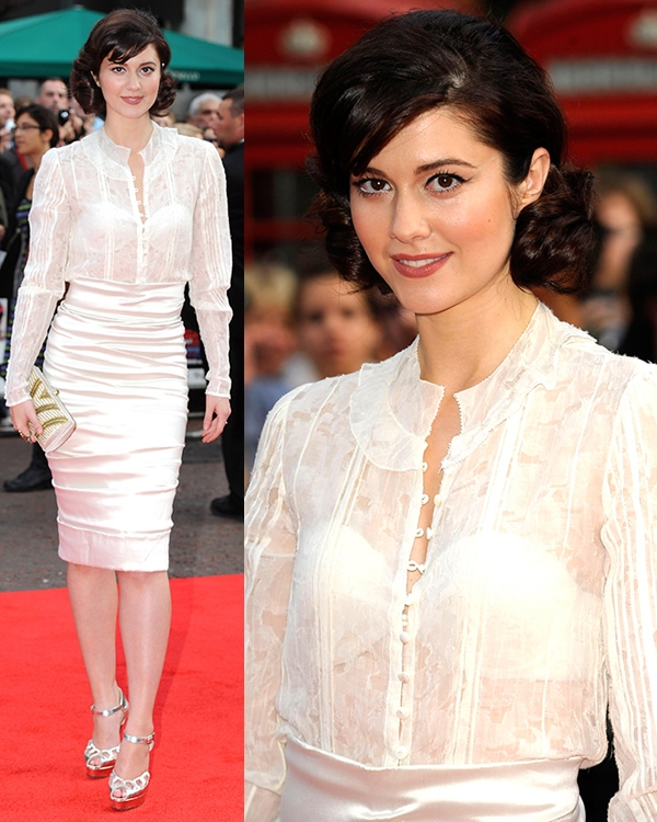 Mary Elizabeth Winstead at the UK premiere of Scott Pilgrim vs. The Worldheld at the Empire Leicester Square in London, England, August 18, 2010