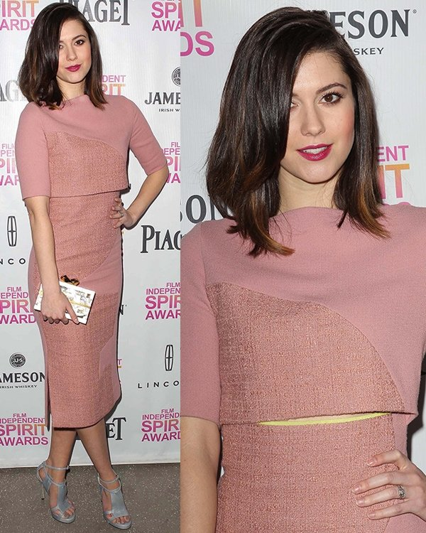 Mary Elizabeth Winstead at the 2013 Independent Spirit Brunch held at BOA Steakhouse in West Hollywood, Los Angeles, California, January 12, 2013