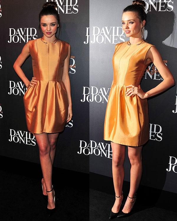 Miranda Kerr attends the 2013 showcasing designs by Ellery at David Jones Castlereagh Street