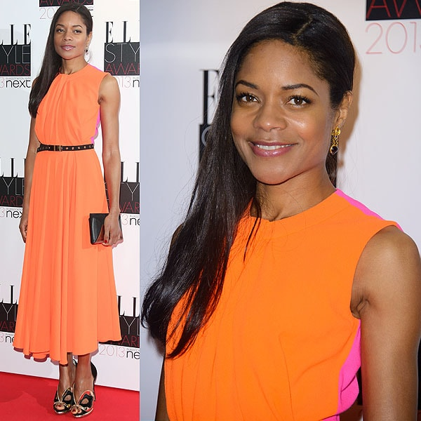 English actress Naomie Melanie Harris attends the Elle Style Awards