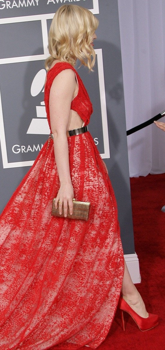 Natasha Bedingfield at the 55th Annual Grammy Awards held at Staples Center in Los Angeles, California on February 10, 2013