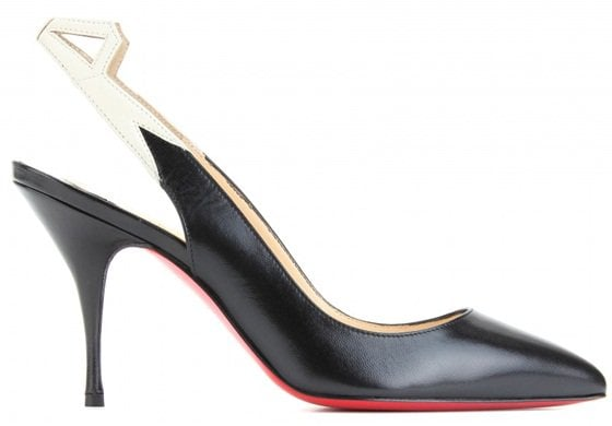 christian louboutin back25 85 mm slingbacks