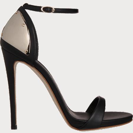 Plated Heel Sandal 2