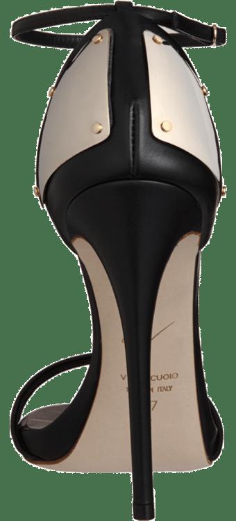 Plated Heel Sandal