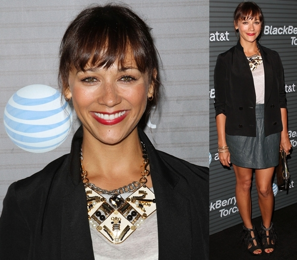 Rashida Jones at Blackberry Torch from AT&T U.S. Launch Party on August 11, 2010