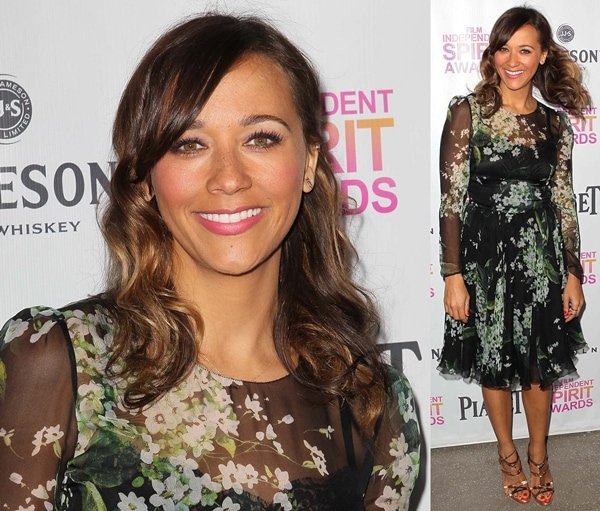 Rashida Jones at the 2013 Independent Spirit Brunch held at BOA Steakhouse in West Hollywood, January 12, 2013