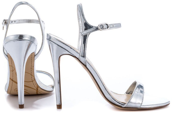 Fergie Roxane Ankle-Strap Sandals Silver