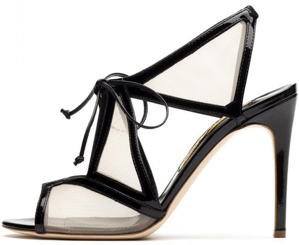 Rupert Sanderson Harting Sandals in Black1