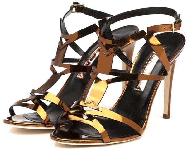 Rupert Sanderson 'Teoni' Strappy High Sandals
