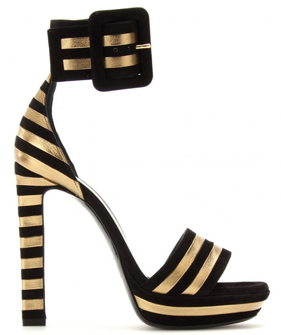 Saint Laurent Paloma Sandals2