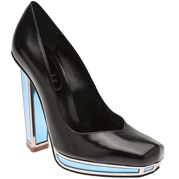 Saint Laurent Mirror Heel Pumps
