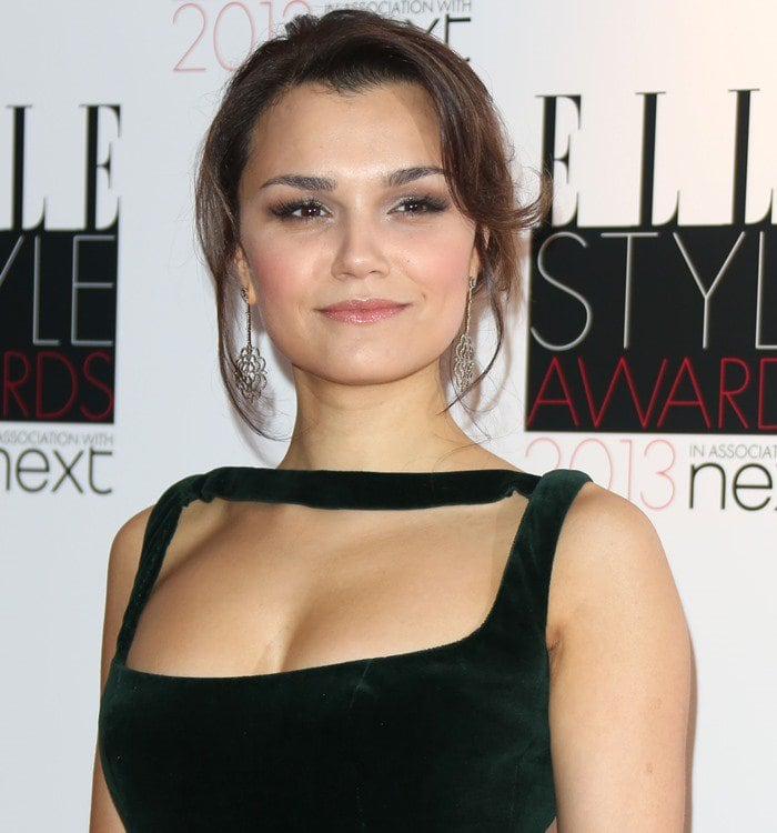 Manx actress/singer Samantha Barks attends the Elle Style Awards