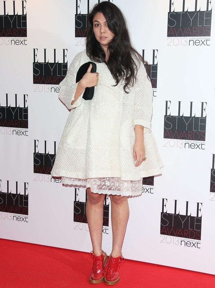 Irish international fashion designer Simone Rocha attends the Elle Style Awards
