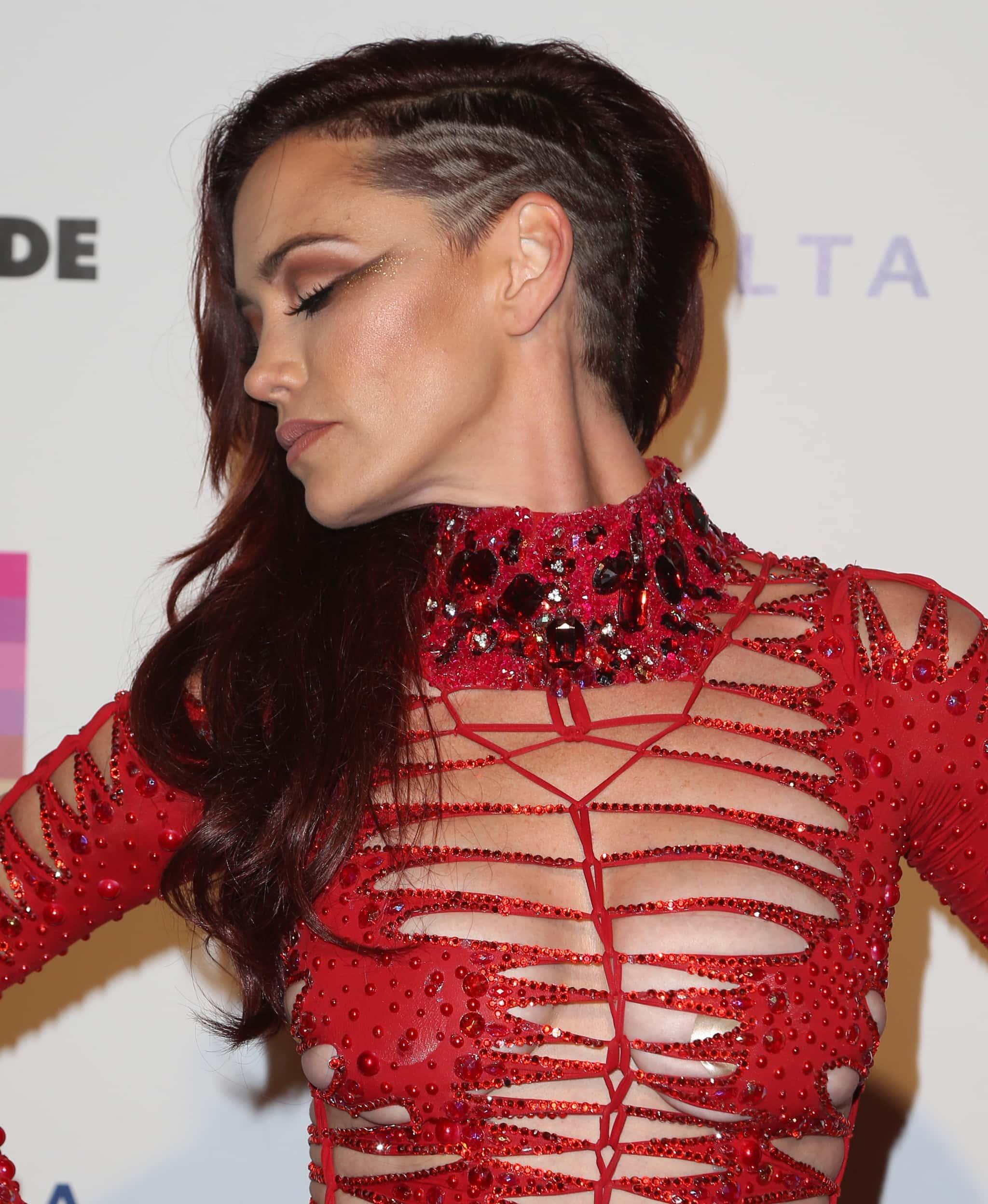 Singer Jessica Sutta attends the 2016 LA PRIDE Music Festival Day 2