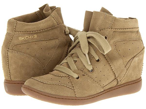 Skechers Plus 3 High Fly Wedge Sneakers
