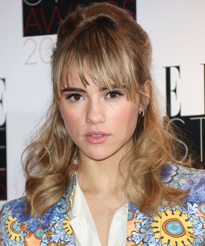 Suki Waterhouse Elle Style Awards