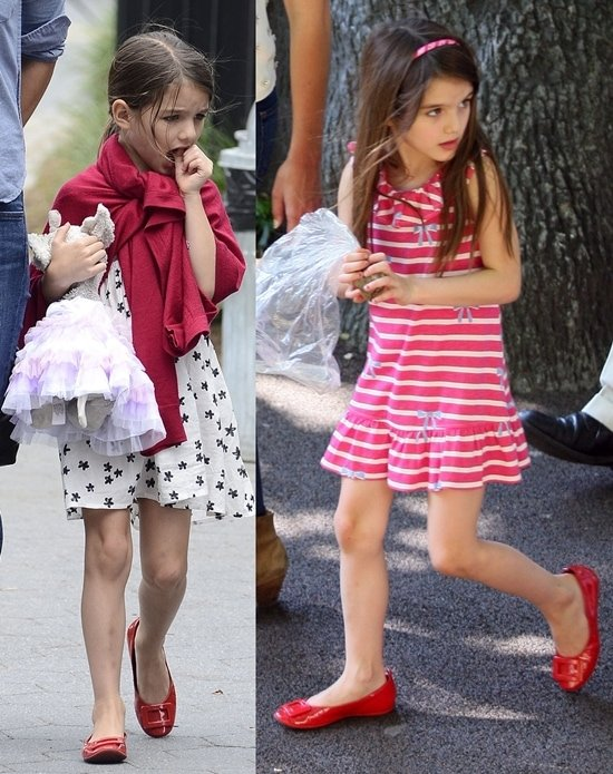 suri cruise and her expensive shoes