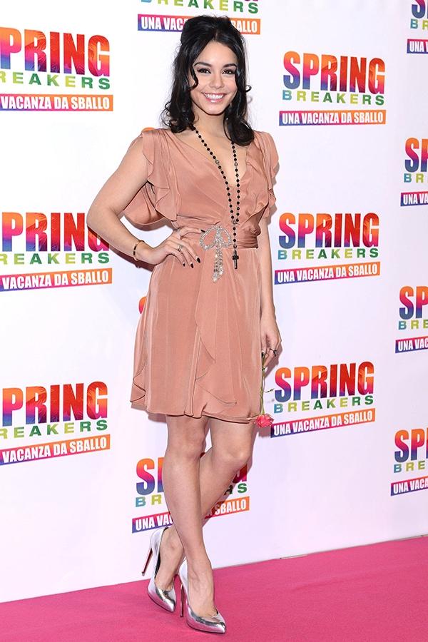 Vanessa Hudgens at 'Spring Breakers' Italian Premiere