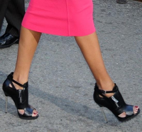 Zoe Saldana wearing Michael Kors heels