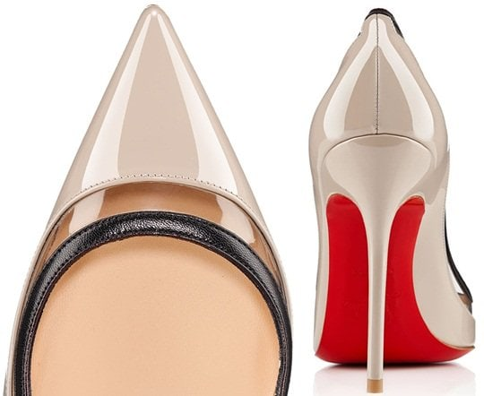 "Christian Louboutin ""Paulina"" Pumps in Stone"