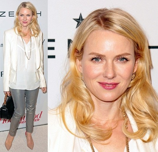 Naomi Watts Feb 4 Hollywood Reporter Nominees' Night 2013