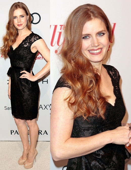 Amy Adams Feb 4 Hollywood Reporter Nominees' Night 2013