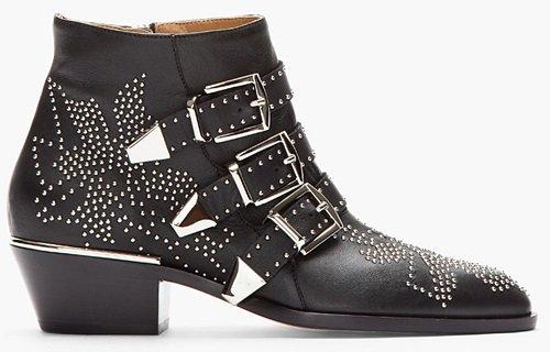 Chloe Susannah Multibuckled Boots