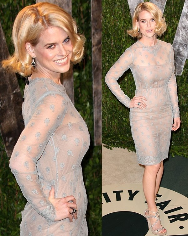 Alice Eve 2012 Vanity Fair Oscar Party at Sunset Tower Hotel - Arrivals West Hollywood, California February 26, 2012