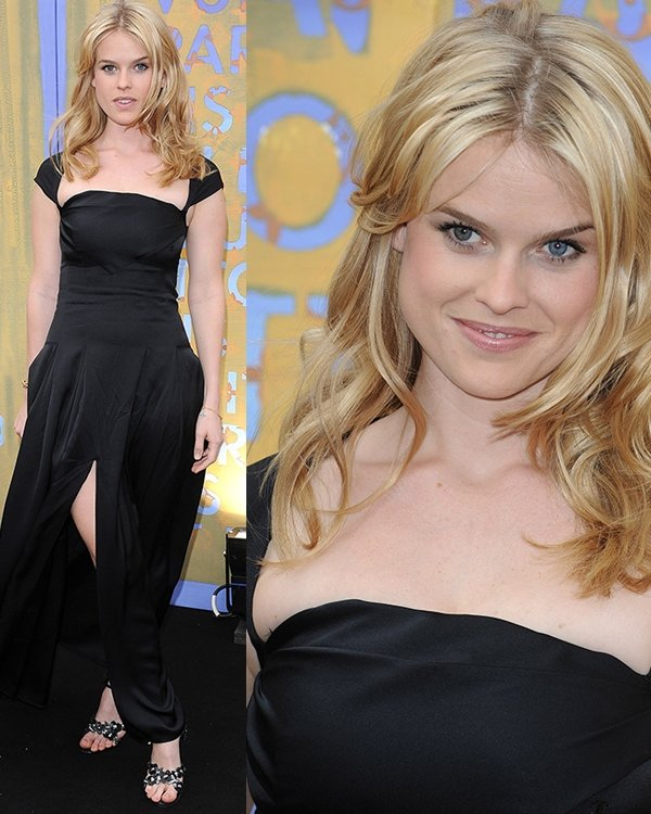 Alice Eve Louis Vuitton hosts a dinner for Richard Prince held at the Serpentine Gallery June 24, 2008
