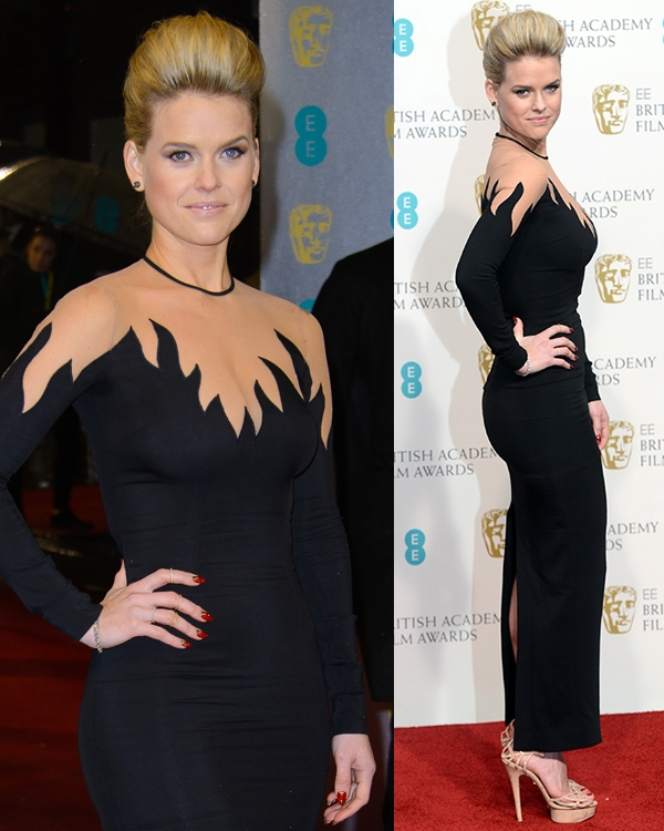 Alice Eve The 2013 EE British Academy Film Awards (BAFTAs) held at the Royal Opera House London, United Kingdom February 10, 2013