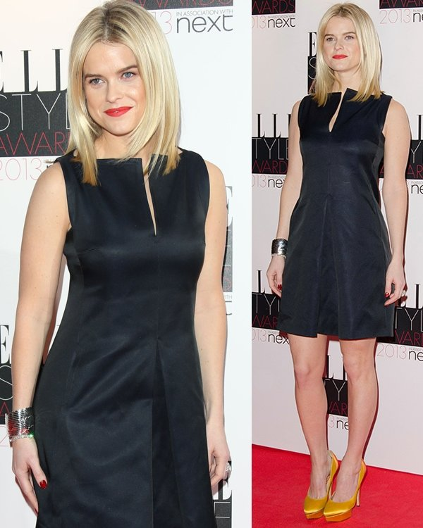 Alice Eve The Elle Style Awards 2013 held at the Savoy - Arrivals London, England February 11, 2013