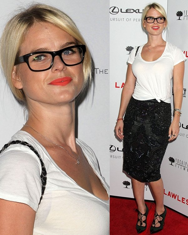 Alice Eve The premiere of 'Lawless' at ArcLight Cinemas Hollywood, California August 22, 2012