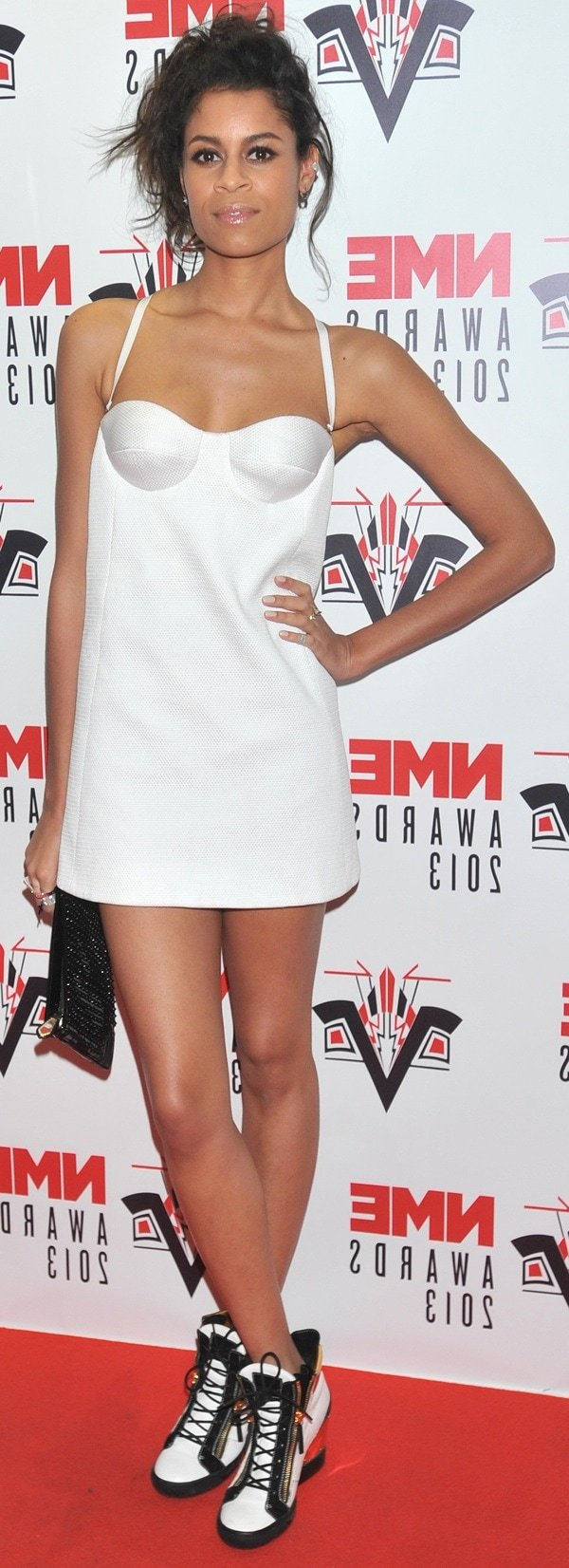 Aluna Francis of AlunaGeorge at the 2013 NME Awards