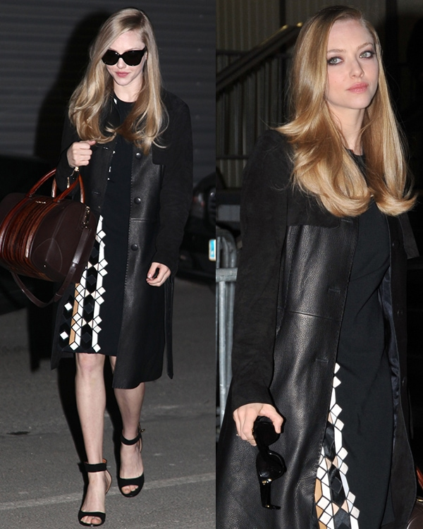 Actress Amanda Seyfried attends the Givenchy Fall/Winter 2013 Ready-to-Wear show