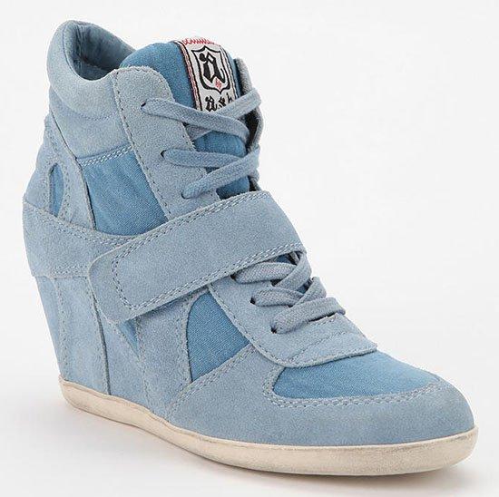 Ash Bowie Wedge Sneakers in Blue