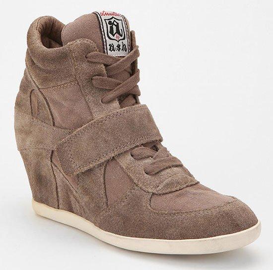 Ash Bowie Wedge Sneakers in Grey