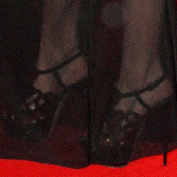 Ashley Roberts KG Kurt Geiger Kitty sandals