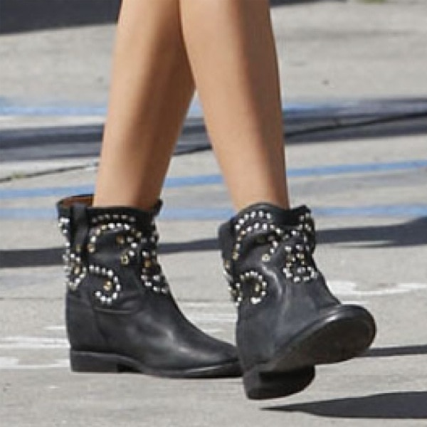 "Ashley Tisdale rocks Isabel Marant ""Caleen"" boots"