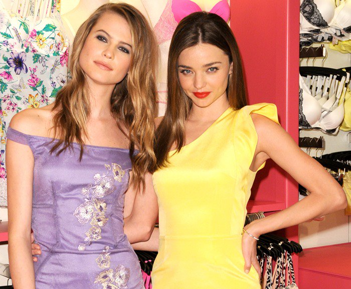 Victoria's Secret Angels launch the 'Fabulous' collection at the Herald Square Store