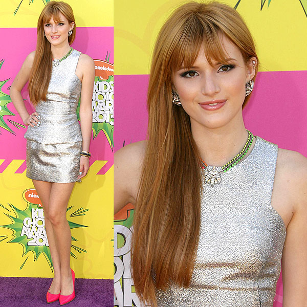 Bella Thorne 2013 Kids' Choice Awards