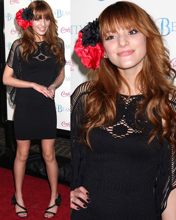 Bella Thorne flaunts her legs at Candie's Presents the Los Angeles Premiere of Beastly