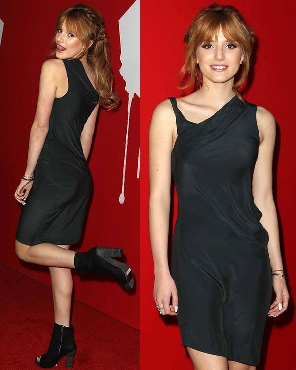 Bella Thorne at the premiere of Summit Entertainment's Warm Bodies