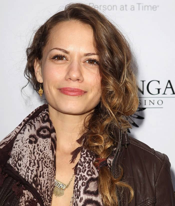 Actress Bethany Joy Lenz attends the Lakers Casino Night fundraiser benefiting the Lakers Youth Foundation at Club Nokia on March 10, 2013 in Los Angeles, California