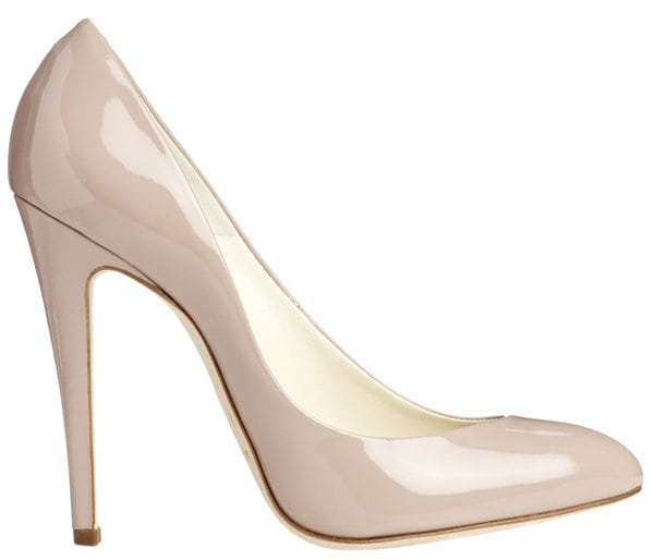 """Brian Atwood """"Nico"""" Pumps in Nude Patent"""
