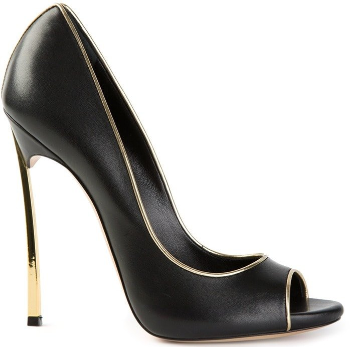 Casadei Black Blade Pumps