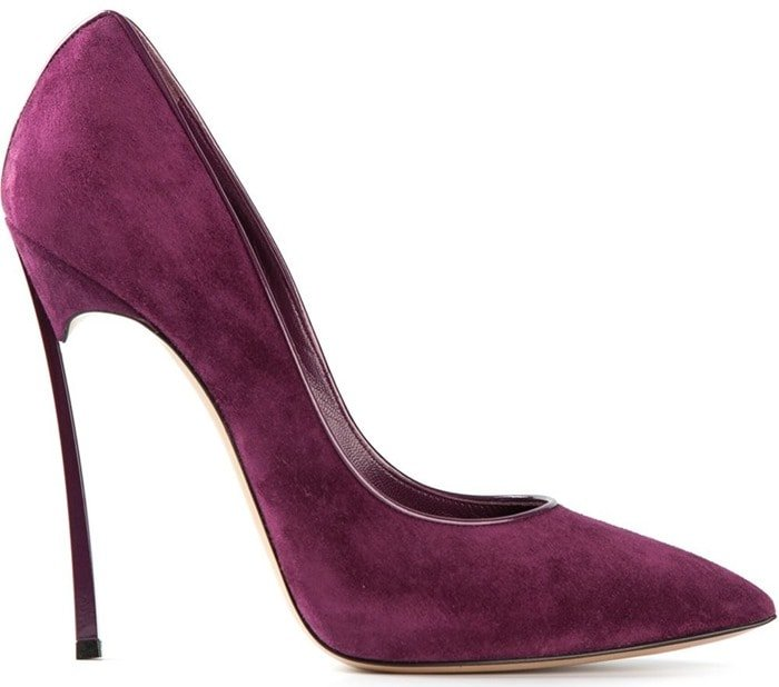 Casadei Purple Blade Pumps